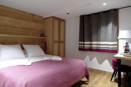 Rent in ski resort 8 room quadriplex chalet 16 people (Becca) - Le Hameau de Caseblanche - Saint Martin de Belleville - Double bed