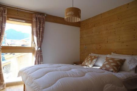 Rent in ski resort 8 room triplex chalet 14 people (Cerf d'Or) - Le Hameau de Caseblanche - Saint Martin de Belleville - Double bed