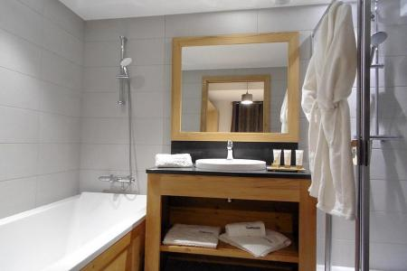 Rent in ski resort A293 - Le Hameau de Caseblanche - Saint Martin de Belleville - Bath-tub