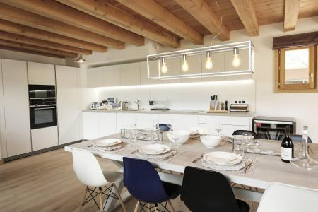 Rent in ski resort A293 - Le Hameau de Caseblanche - Saint Martin de Belleville - Kitchenette