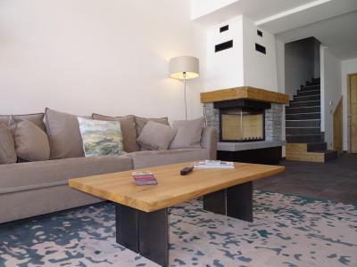 Location au ski Chalet duplex 7 pièces 12 personnes (Bouc Blanc) - Le Hameau de Caseblanche - Saint Martin de Belleville - Cheminée