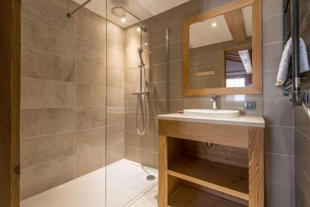 Location au ski Chalet quadriplex 8 pièces 14 personnes (Chanterella) - Le Hameau de Caseblanche - Saint Martin de Belleville - Douche