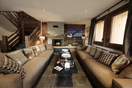 Location au ski Chalet quadriplex 8 pièces 16 personnes (Becca) - Le Hameau de Caseblanche - Saint Martin de Belleville - Séjour