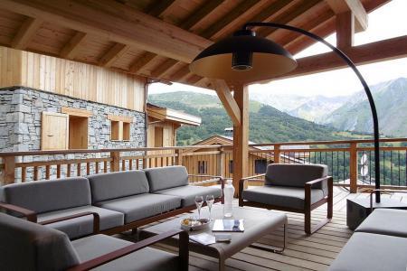 Location au ski Chalet quadriplex 8 pièces 16 personnes (Becca) - Le Hameau de Caseblanche - Saint Martin de Belleville - Terrasse