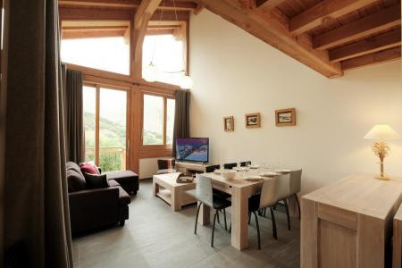 Location au ski Chalet triplex 4 pièces 6 personnes (Coron) - Le Hameau de Caseblanche - Saint Martin de Belleville - Séjour