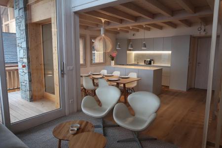 Location au ski Chalet triplex 4 pièces 6 personnes (Retreat) - Le Hameau de Caseblanche - Saint Martin de Belleville - Séjour