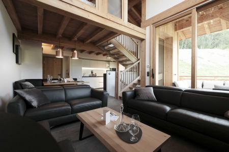 Location au ski Chalet triplex 4 pièces 6 personnes (Suzan) - Le Hameau de Caseblanche - Saint Martin de Belleville - Séjour