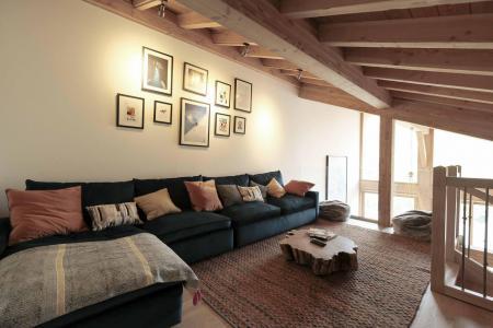 Location au ski Chalet triplex 6 pièces 12 personnes (Ibis Viperae) - Le Hameau de Caseblanche - Saint Martin de Belleville - Canapé
