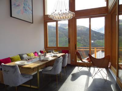 Location au ski Chalet triplex 6 pièces 12 personnes (Ibis Viperae) - Le Hameau de Caseblanche - Saint Martin de Belleville - Table