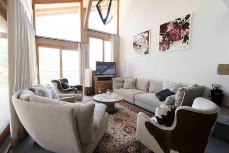Location au ski Chalet triplex 7 pièces 12 personnes (Myriel) - Le Hameau de Caseblanche - Saint Martin de Belleville - Séjour