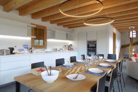 Location au ski Chalet triplex 7 pièces 14 personnes (Haleakala) - Le Hameau de Caseblanche - Saint Martin de Belleville - Cuisine