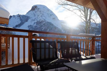 Location au ski Chalet triplex 7 pièces 14 personnes (Haleakala) - Le Hameau de Caseblanche - Saint Martin de Belleville - Terrasse