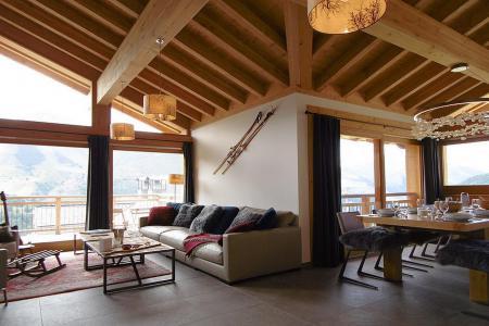 Location au ski Chalet triplex 8 pièces 14 personnes (Cerf d'Or) - Le Hameau de Caseblanche - Saint Martin de Belleville - Séjour