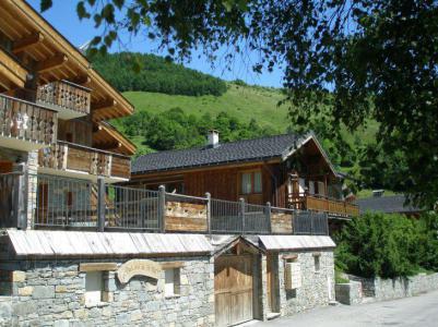 Location au ski Les Balcons de St Martin - Saint Martin de Belleville - Extérieur hiver