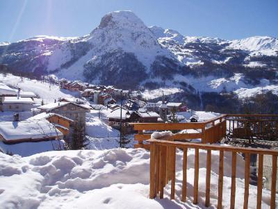 Vacances en montagne Les Balcons de St Martin - Saint Martin de Belleville - Extérieur hiver