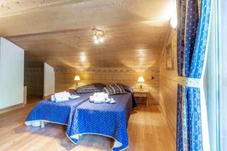 Rent in ski resort 5 room apartment 10 people (A08) - Les Chalets du Gypse - Saint Martin de Belleville - Bedroom under mansard