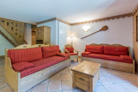 Rent in ski resort 5 room apartment 10 people (A08) - Les Chalets du Gypse - Saint Martin de Belleville - Living room
