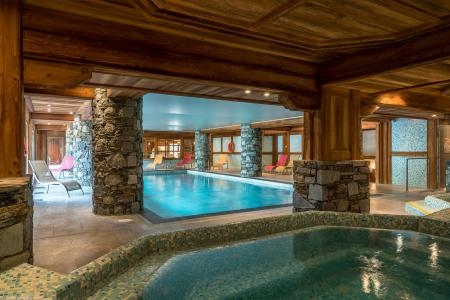 Rent in ski resort Les Chalets du Gypse - Saint Martin de Belleville - Jacuzzi