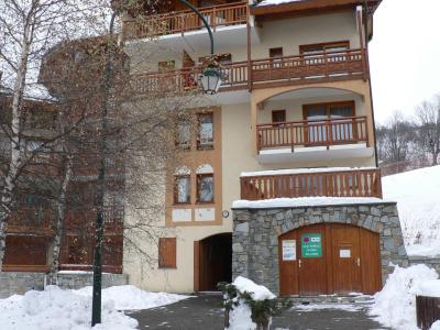 Holiday in mountain resort Résidence Balcons de Tougnette - Saint Martin de Belleville - Winter outside