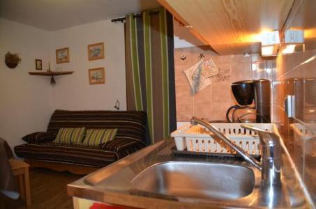 Location au ski Studio 2 personnes (2) - Residence Biollay - Saint Martin de Belleville - Évier 1 bac