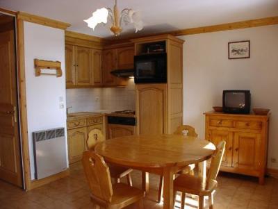 Location au ski Studio 4 personnes (1) - Residence La Voute - Saint Martin de Belleville - Coin repas