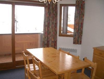 Location au ski Appartement 2 pièces 6 personnes - Residence Le Biolley - Saint Martin de Belleville - Porte-fenêtre donnant sur balcon