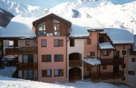 Location au ski Residence Le Biolley - Saint Martin de Belleville - Extérieur hiver