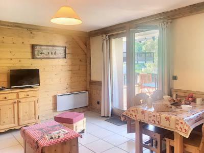 Rent in ski resort 2 room apartment 4 people (A1) - Résidence le Cochet - Saint Martin de Belleville - Living room