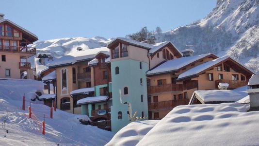 Location Les Menuires : Résidence le Neiger hiver