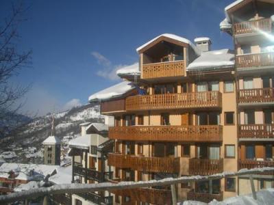 Location au ski Residence Trolles - Saint Martin de Belleville - Extérieur hiver