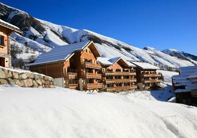 Première minute ski Les Chalets De Saint Sorlin