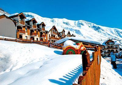 Ski en mars Residence L'ouillon