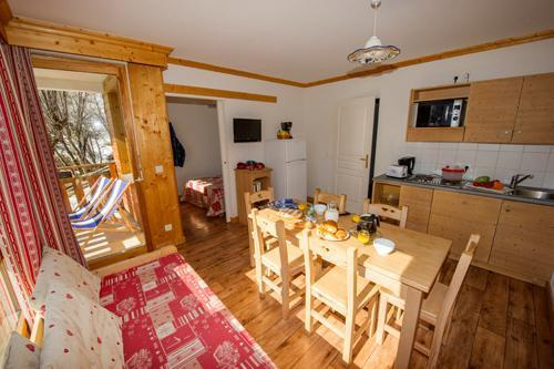 Location au ski Residence Le Balcon Des Neiges - Saint Sorlin d'Arves - Séjour