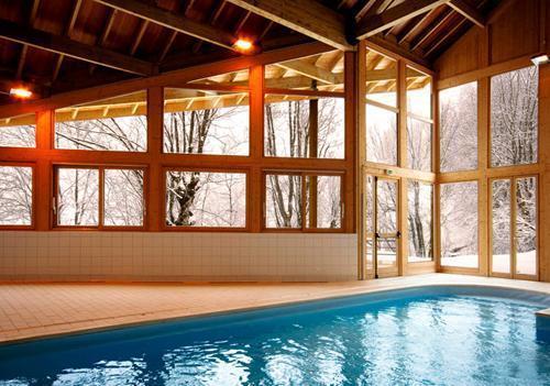 Location au ski Residence Le Balcon Des Neiges - Saint Sorlin d'Arves - Piscine
