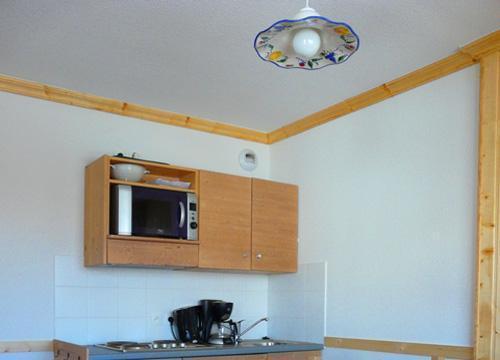Location au ski Studio 4 personnes - Residence Le Balcon Des Neiges - Saint Sorlin d'Arves - Kitchenette