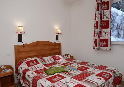 Location au ski Residence Les Bergers - Saint Sorlin d'Arves - Chambre