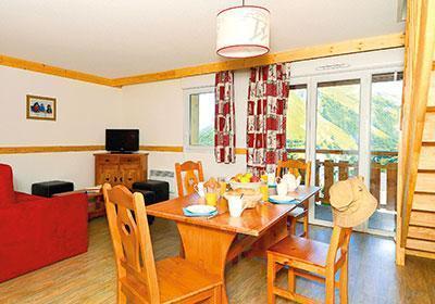 Location au ski Residence Les Bergers - Saint Sorlin d'Arves - Salle à manger