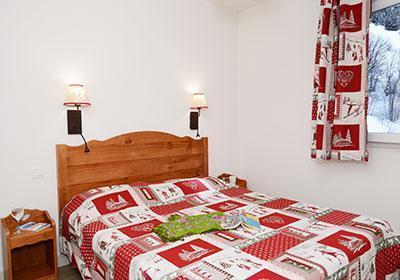 Location au ski Residence Les Bergers - Saint Sorlin d'Arves - Lit double