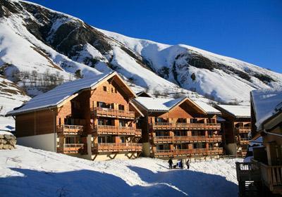 Location au ski Residence Les Chalets De L'arvan - Saint Sorlin d'Arves - Extérieur hiver