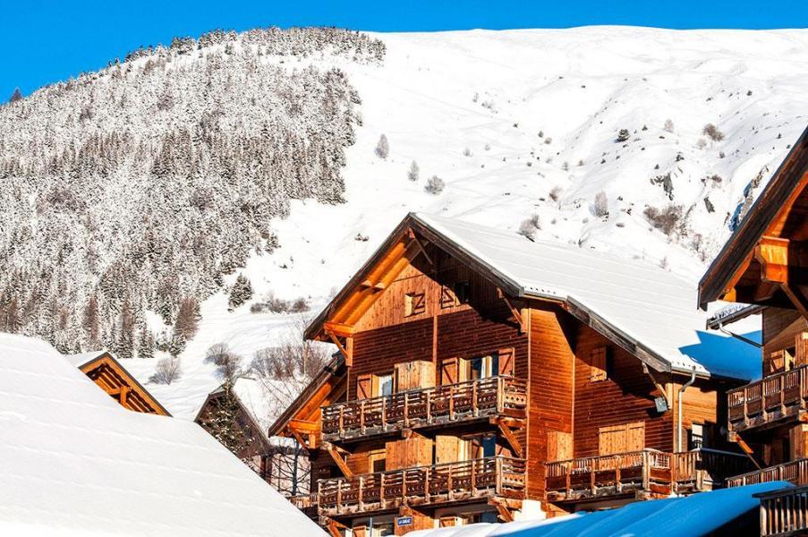 Location au ski Les Chalets de Saint Sorlin - Saint Sorlin d'Arves - Extérieur hiver