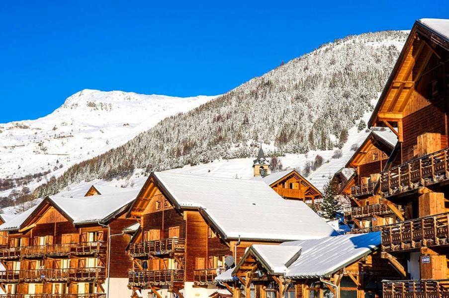 Vacances en montagne Les Chalets de Saint Sorlin - Saint Sorlin d'Arves - Extérieur hiver
