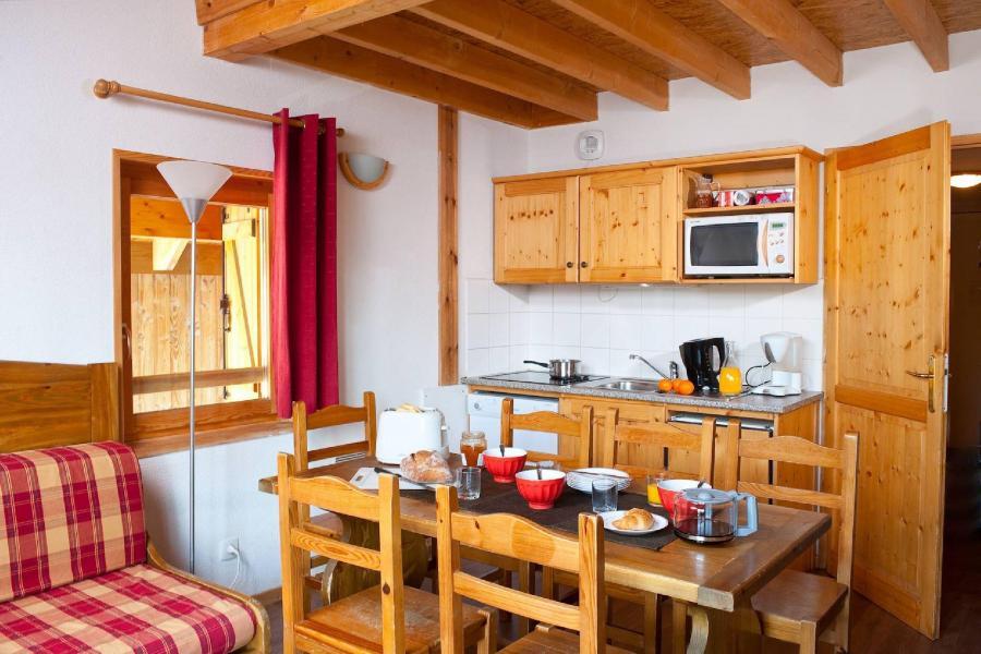 Alquiler al esquí Les Fermes de Saint Sorlin - Saint Sorlin d'Arves - Comedor