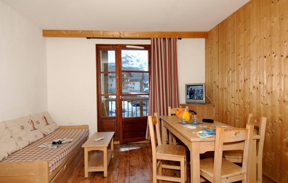 Location au ski Résidence l'Orée des Pistes - Saint Sorlin d'Arves - Séjour