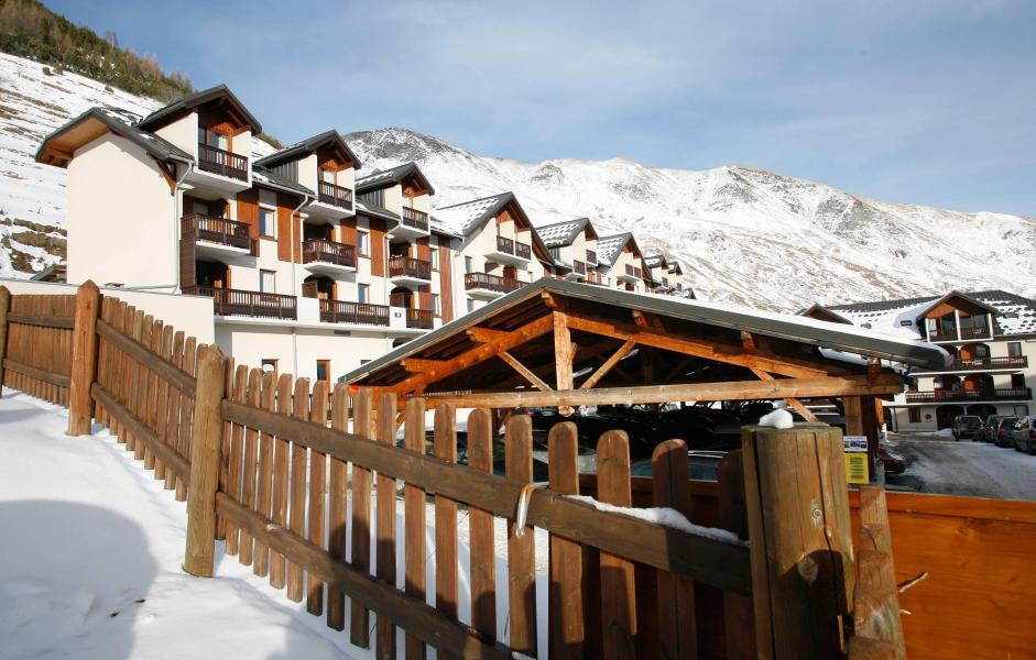 Location au ski Résidence l'Ouillon - Saint Sorlin d'Arves - Extérieur hiver