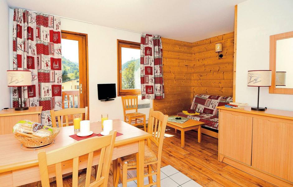 Location au ski Résidence l'Ouillon - Saint Sorlin d'Arves - Coin repas