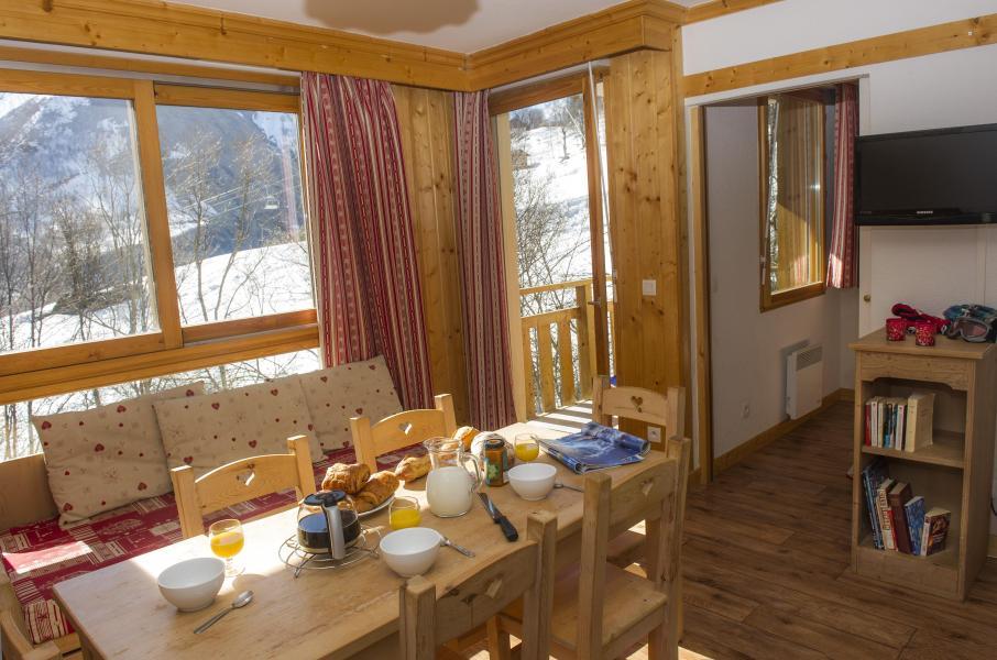 Location au ski Résidence le Balcon des Neiges - Saint Sorlin d'Arves - Coin repas