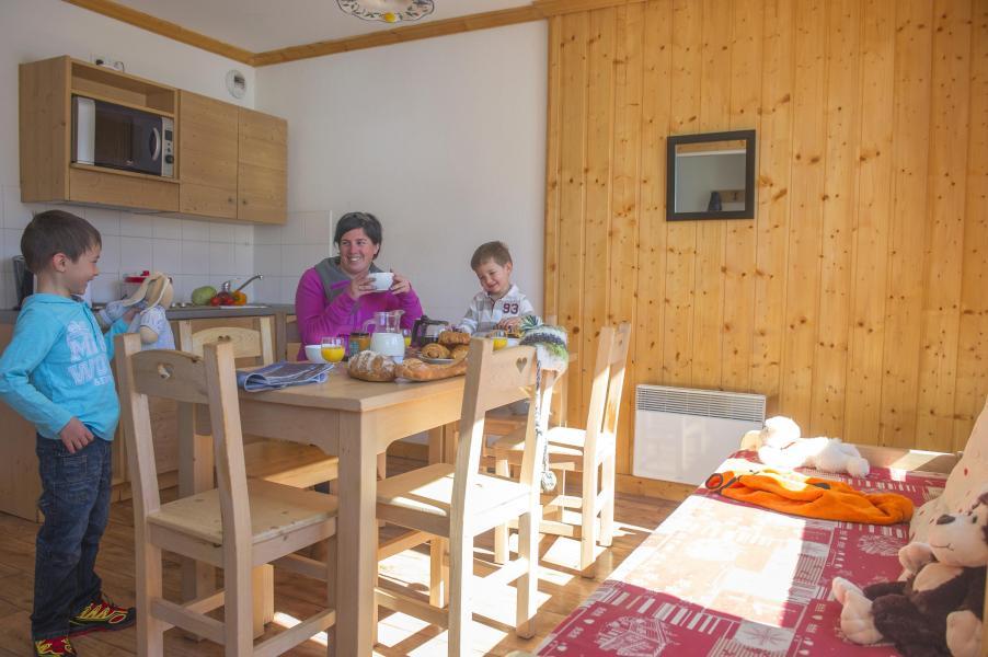 Location au ski Résidence le Balcon des Neiges - Saint Sorlin d'Arves - Cuisine