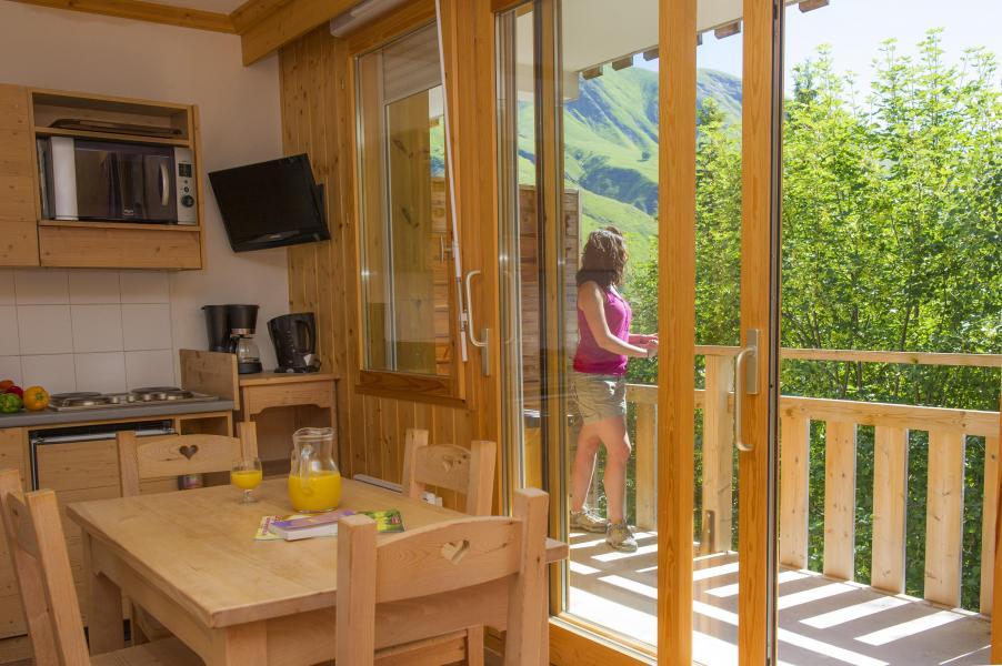 Location au ski Résidence le Balcon des Neiges - Saint Sorlin d'Arves - Cuisine ouverte