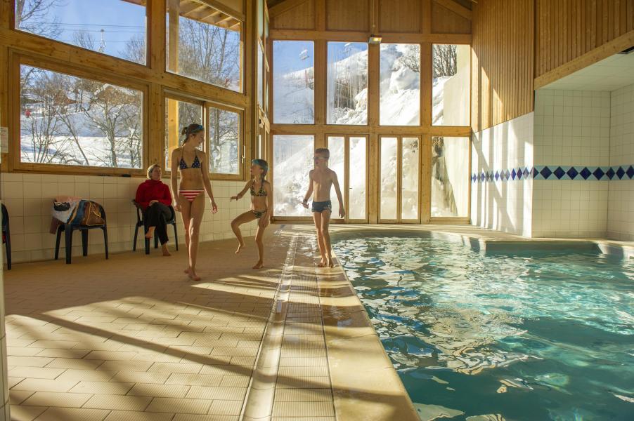 Location au ski Résidence le Balcon des Neiges - Saint Sorlin d'Arves - Piscine
