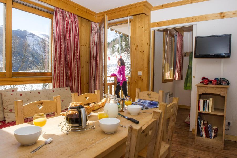 Location au ski Résidence le Balcon des Neiges - Saint Sorlin d'Arves - Salle à manger